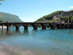 Old Bridge Azzone Visconti in Lecco