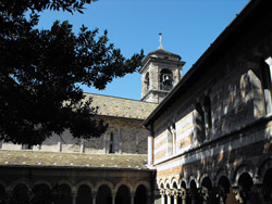 The Abbey of Piona in Colico