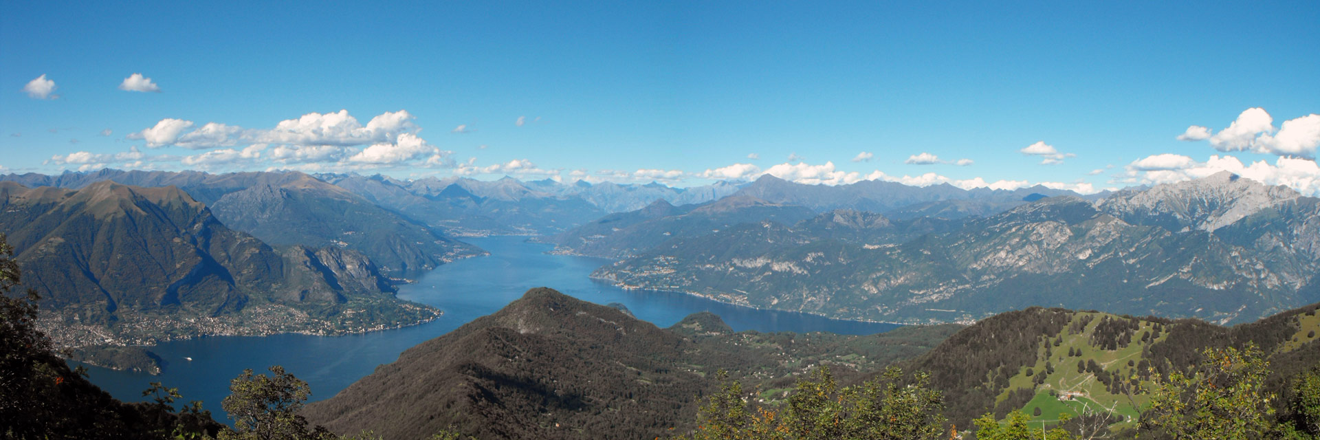 Panorama Saint Primo Mountain