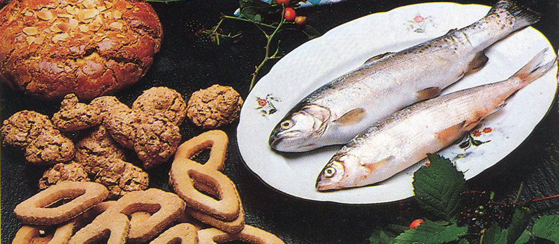 Typical Lake Como cuisine