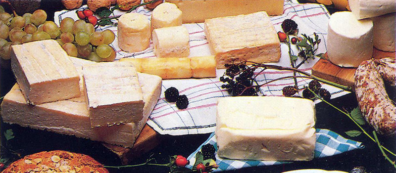 Lake Como's Cheeses