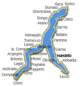 Map Mandello Lario