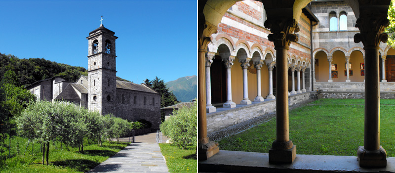 The Abbey of Piona - Colico