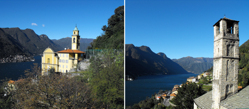 Churches of Pognana Lario - Lake Como