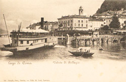 Antique postcards of Lariana's navigational